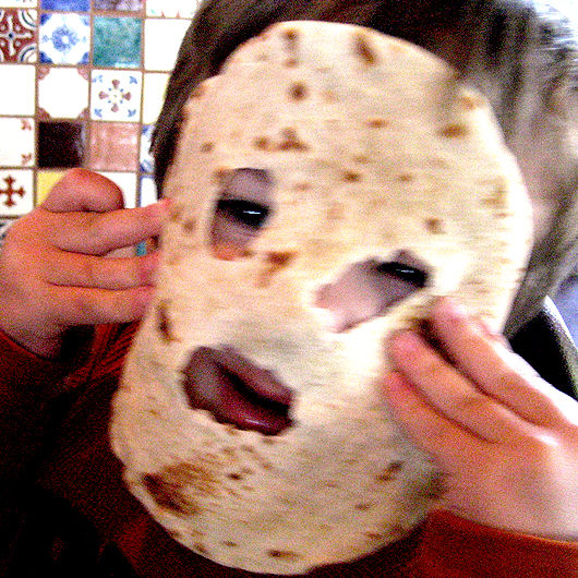 tortilla mask